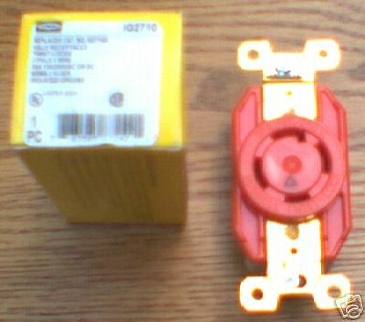 NEW Hubbell RECEPTACLE IG2710 30 Amp 125/250  L14-30R