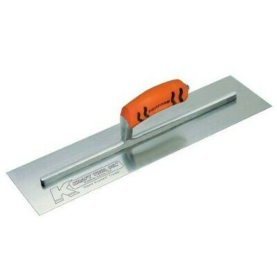 """Kraft Tool Concrete Finishing Trowel 12"""" x 4"""" Made in the USA"""