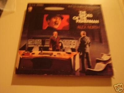 The Shoes Of The Fisherman OST LP Alex North NM