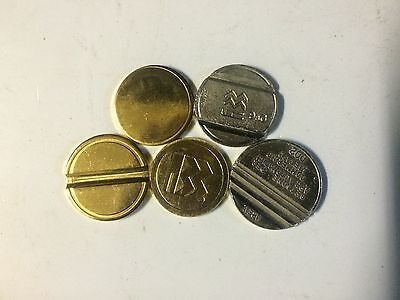 Tokens-High Security--50 --Vending-Coin-Mechs-Coin Ops