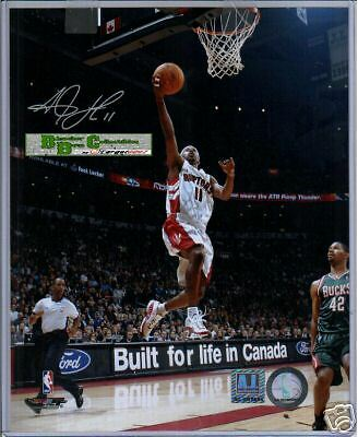 T J Ford  8 X 10 Photograph Autograph With COA Raptors