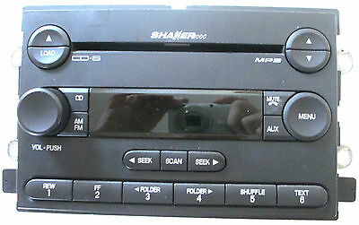 FORD Mustang AM/FM 6 DISC IN-DASH MP3