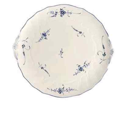 Villeroy Boch Vieux Luxembourg Eared Cake Platter New