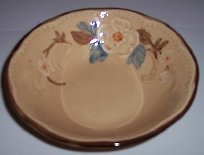 FRANCISCAN POTTERY BOUQUET CEREAL BOWL!