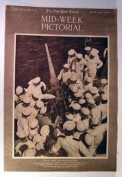 1917 NY TIMES Mid-Week Pictorial OUR GROWING NAVY