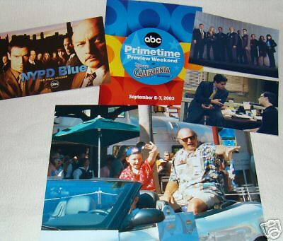 NYPD BLUE  lot of 5- Esai Morales Dennis Franz +More