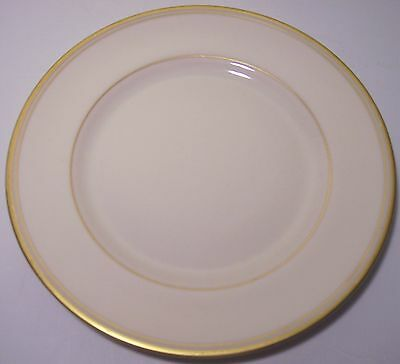 FRANCISCAN POTTERY FINE CHINA GOLD BAND BREAD PLATE!