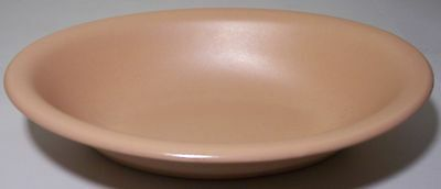 FRANCISCAN POTTERY EL PATIO SATIN CORAL OVAL VEGETABLE!
