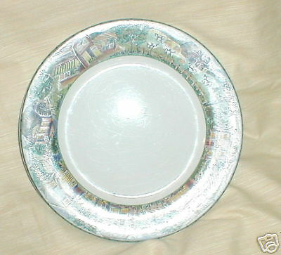 FITZ & FLOYD TOWN & COUNTRY  SOUP BOWL