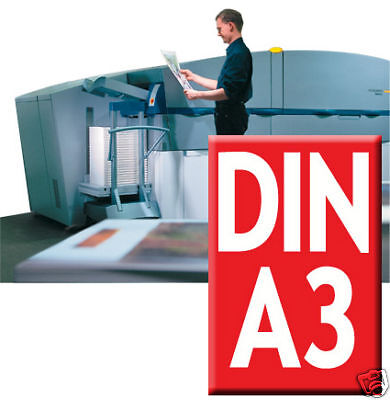 25 x Plakate / Poster A3 Highend Digitaldruck in Farbe
