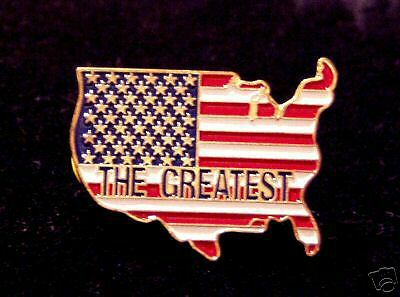 Collectible US Patriotic Lapel Pin America Stripe #R5B