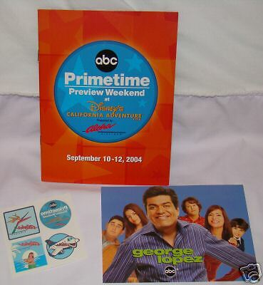 GEORGE LOPEZ lot of 3 items - Constance Marie +More