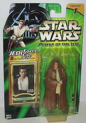 2000 Star Wars Obi Wan Kenobi Figure Sealed by Kenner FREE Shipping