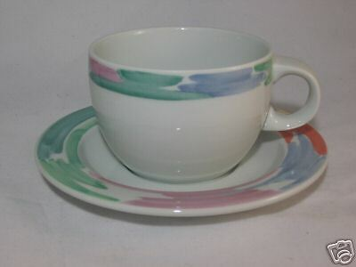 Block Spal Palette Cup & Saucer by Jack Prince