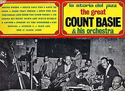 Lp The Great Count Basie And His Orchestra