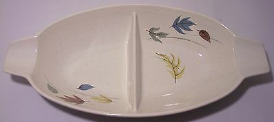 FRANCISCAN POTTERY AUTUMN DIVIDED VEGETABLE BOWL!