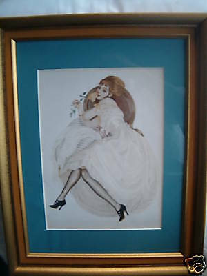 Pin-Up Art  framed Picture ( Vargas )  12X16