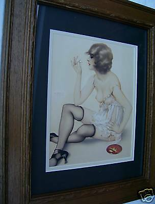 Pin-Up Art  framed Picture ( Vargas )  11X14