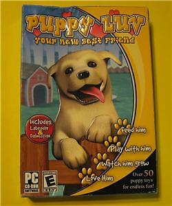 Puppy Luv your new  best friend Kids all pc games Dogs grow feed wash walks
