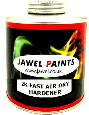 2K Hardener / Activator Jawel Fast air dry 500ml For Gloss paint & Clear Lacquer