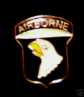 Collect Military Tie Hat Lapel Pin 101 Airborne #R17F
