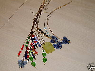 Your Choice of Color-Beaded Punch Needle Threader