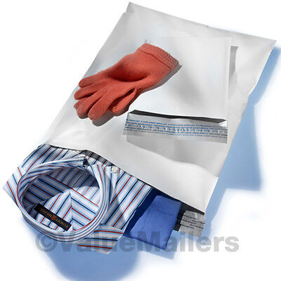 300 12x15.5 WHITE POLY MAILERS ENVELOPES BAGS 12 x 15.5