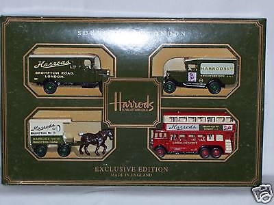 LLEDO DAYS GONE 4pc HD1004 HARRODS SOUVENIR OF LONDON