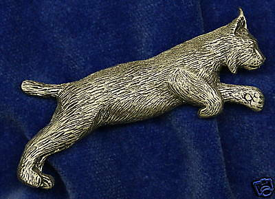 Empire Pewter Lynx Pewter Pin