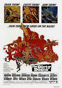 MOVIE POSTER ~ THE DIRTY DOZEN (Lee Marvin) 27x40