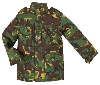NEW ARMY PADDED COMBAT JACKET boys 11-12 tough military green camo soldier coat