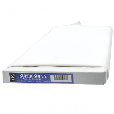 "SULKY SUPER SOLVY EMBROIDERY STABILIZER!20""x25yds! BOLT"