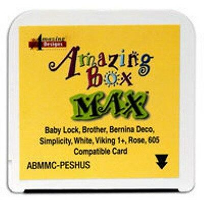 Blank Embroidery Card Brother Amazing Box & LITTLE MAX!