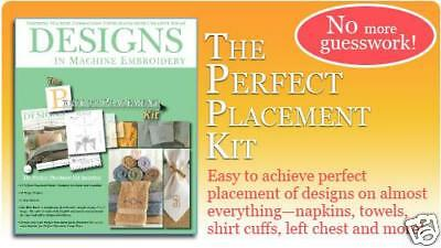 Perfect Placement Kit™ by Designs in Machine Embroidery