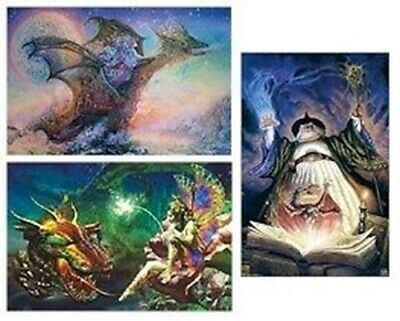 Dragons ~ Fairy Spell 3 Poster Set Dragon Lot