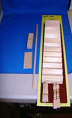 Houseworks Dollhouse Classic Straight Stairway Kit 1 inch Scale HW7000