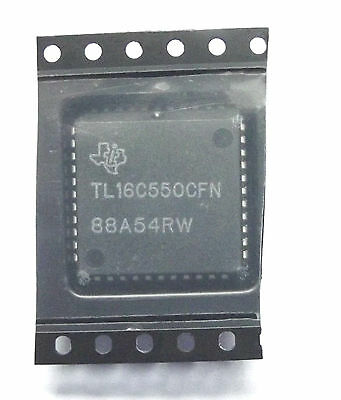 TL16C550CFN TEXAS INSTRUMENTS UART Interface, 1, 1 Mbps, 3 V, 3.6 PLCC-44