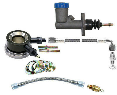 Hydraulic Throwout Bearing-Master Cylinder Kit W/bleed