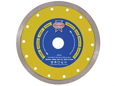 FAITHFULL 115mm Tile Porcelain Cutting Diamond Blade