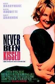 NEVER BEEN KISSED - D/S Original Movie Poster One Sheet