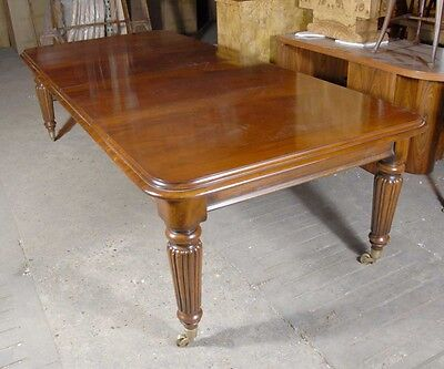 9 foot Victorian Extending Dining Table Mahogany Tables