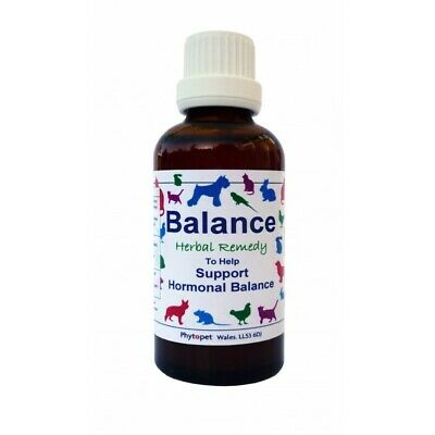 Phytopet Herbal Remedies Balance 30ml Dog Cat hormones