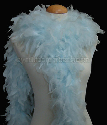 Mist Blue 65 Grams Chandelle Feather Boa   Party Halloween Costume