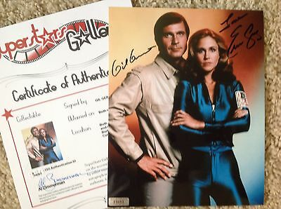 BUCK ROGERS In-Person Signed 8X10 Combo Photo - SuperStars Gallery SSG COA PROOF