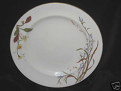 ROYAL WINTON - 3102 - FALL FLORAL & LEAVES DINNER PLATE
