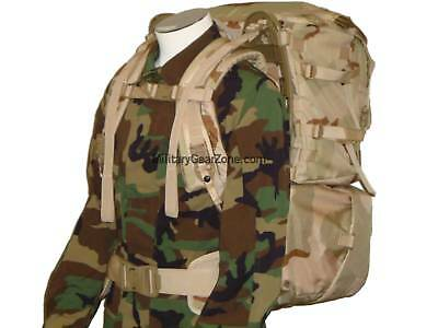 New Genuine US Military Issue MOLLE II Rucksack Bugout Backpack Desert Camo Ruck