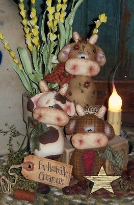 Patti/'s Ratties Primitive Easter Sheep Goats Ornies Paper Pattern #300