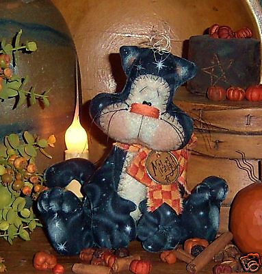 Primitive The Websters Spider Doll Ornies Paper Pattern #165