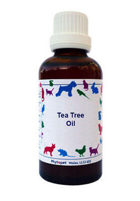 Phytopet Herbal Remedies Tea Tree Oil 10ml Dog Cat antiseptic
