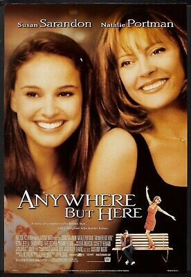 ANYWHERE BUT HERE - D/S Original Movie Poster One Sheet